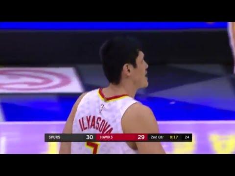 Ersan İlyasova'nın 20 sayılık San Antonio Spurs maçı performansı