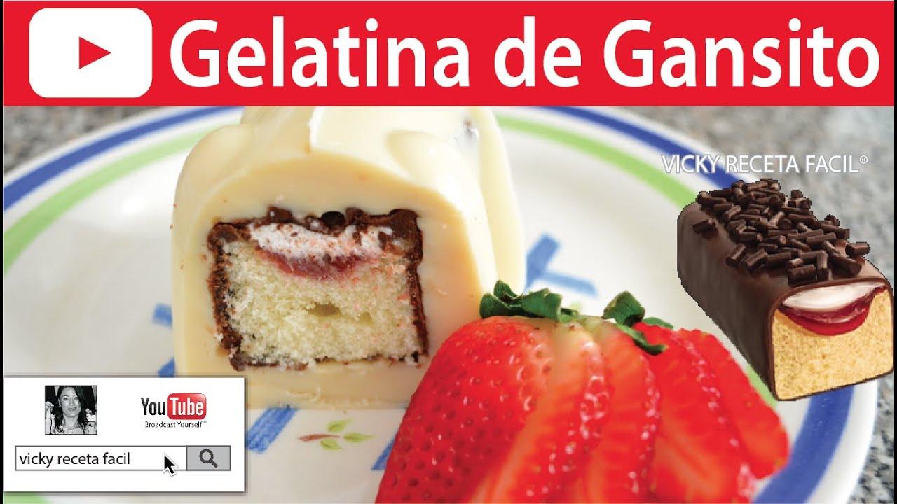 Gelatina de gansito vicky receta facil youtube for Blogs de cocina facil
