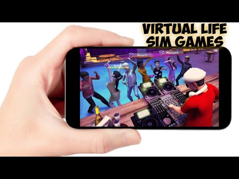 TOP 10 Virtual Life Simulator Mobile Games Android/IOS 2020