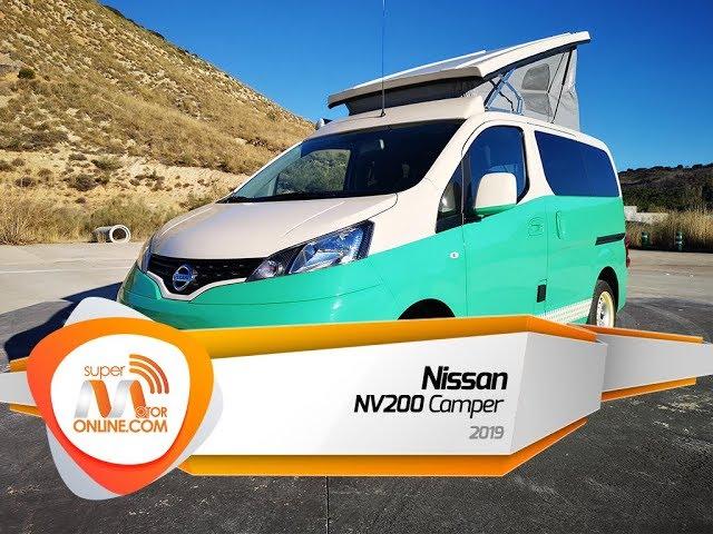 Nissan NV200 Camper 2019 / Al volante / Prueba dinámica / Review / Supermotoronline.com