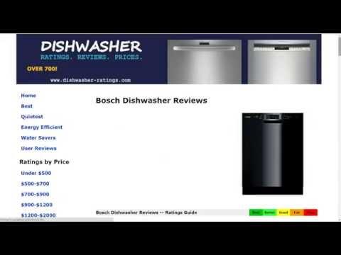 Bosch SHE3AR75UC Dishwasher Review