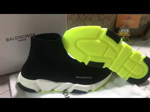 Balenciaga Speed Trainer Tricolor with