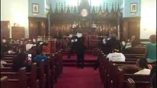 Because of the Blood - Ricky Dillard (A Chosen Generation Mime)
