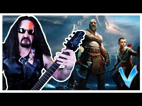 "God of War Theme ""Epic Metal"" Cover (Little V)"