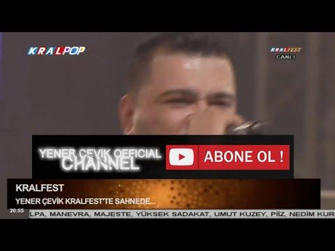 Yener ÇEVİK Kral Fest 2014 Sahnesi