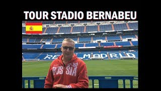Tour dello Stadio  Bernabèu !!! ( vi faccio vedere gli spogliatoi del Real )