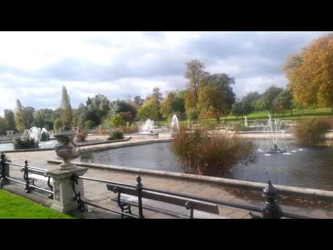 Italian Gardens(Kensington Gardens)-A Royal Park in London
