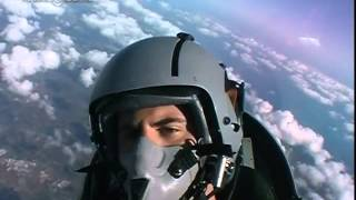 Flight with a fighter jet Aermacchi MB339 Italian Air Force   second part