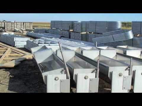 Dairy farming in South Dakota U.S.A.