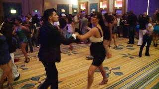 Nery Garcia Salsa dancing at Orlando Salsa Congress