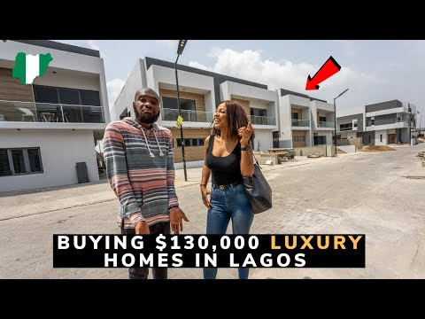 We Toured a Beautiful Luxury Estate in Lagos Nigeria!