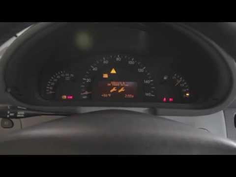Mercedes W203 service light reset