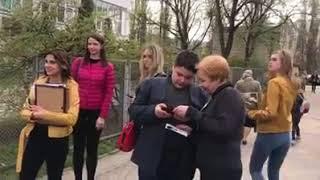 Алексеев посетил школу,в которой учился!