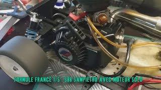 Formule France 1/5 eme S88r Sampietro avec moteur Solo