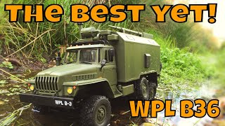 WPL B36 URAL Communications truck RTR. The Best WPL yet! Budget RC military truck