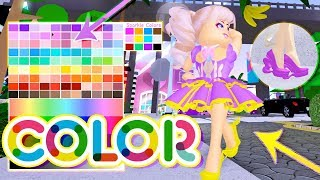 NEW COLORS UPDATE FOR HEELS & SKIRTS! Roblox Royale High