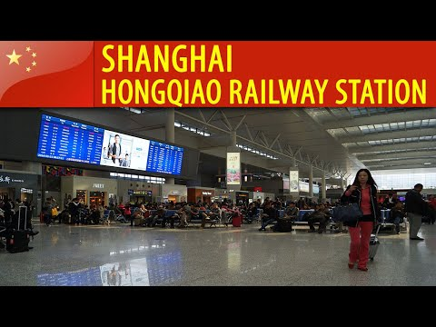 China - Shanghai - Hongqiao Railway Station