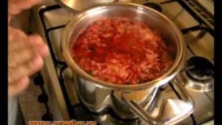 Цептер-борщ - видео рецепт