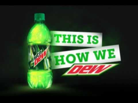 Mountain DEW Commercial Song