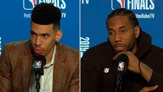 Kawhi Leonard & Danny Green Postgame Interview - Game 3 | Raptors vs Warriors | 2019 NBA Finals
