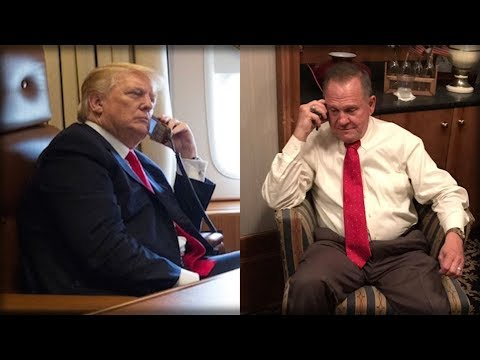 SECONDS AFTER THE ALABAMA RACE ENDED, THE PRESIDENT CALLED MOORE AND DID EXACTLY WHAT HE PROMISED