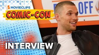 Ed Skrein 'The Transporter Refueled' Exclusive Interview - Comic-Con (2015) HD