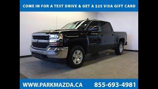 BLACK 2017 Chevrolet Silverado 1500  Review Sherwood Park Alberta - Park Mazda