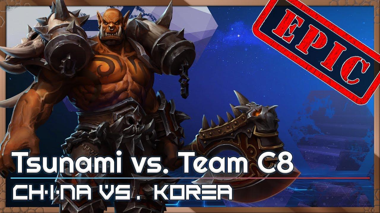 EPIC: C8 Tsunami - China/Korea Cup - Heroes of the Storm Tournament