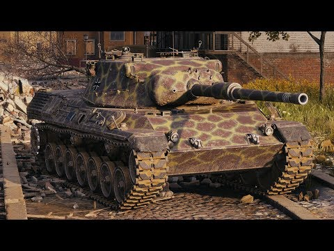 World of Tanks Leopard 1 - 4 Kills 9K Damage thumbnail