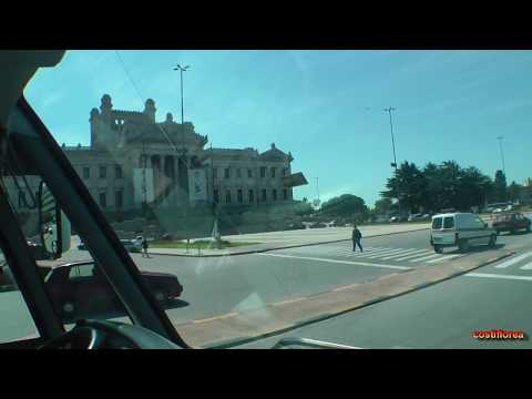 Uruguay - Montevideo,Bus tour - South America Part 28 - Travel Video HD