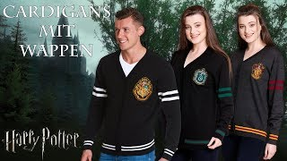 Harry Potter: Cardigans mit Wappen