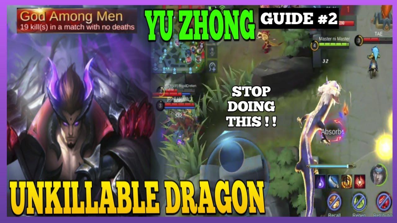 Yu Zhong Guide 2 | Avoid These Mistakes on Yu Zhong | Master the Basics | Yu Zhong Gameplay | MLBB