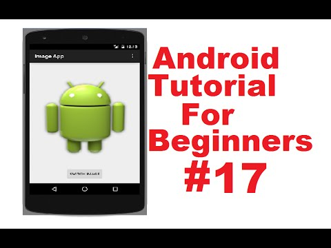 Android Tutorial for Beginners 17 # Android ImageView example