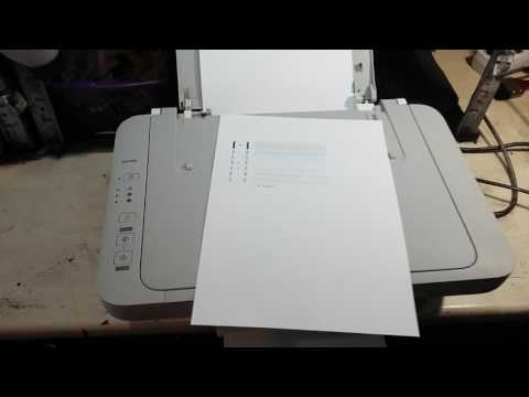 Как настроить головки на принтере canon