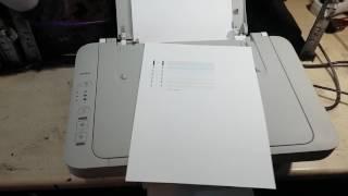 Canon MG2440 Принтер не печатает или печатает с полосами Самостоятельное обслуживание и ремонт