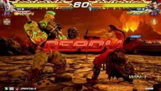 武帝 聖帝 RULERS' DEATHMATCH 鉄拳7FR 高円寺キューブ Tekken7 FATED R...
