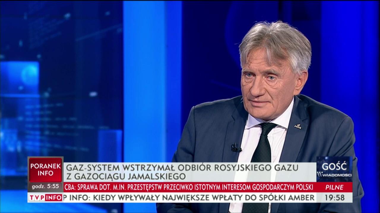 Rosyjski straszak gazowy – Gość Wiadomości