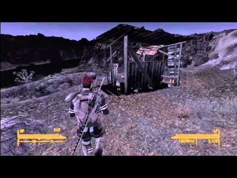 Gobi Campaign Scout Rifle Unique Sniper Rifle Location Fallout New Vegas Xbox 360 (HD 1080p)
