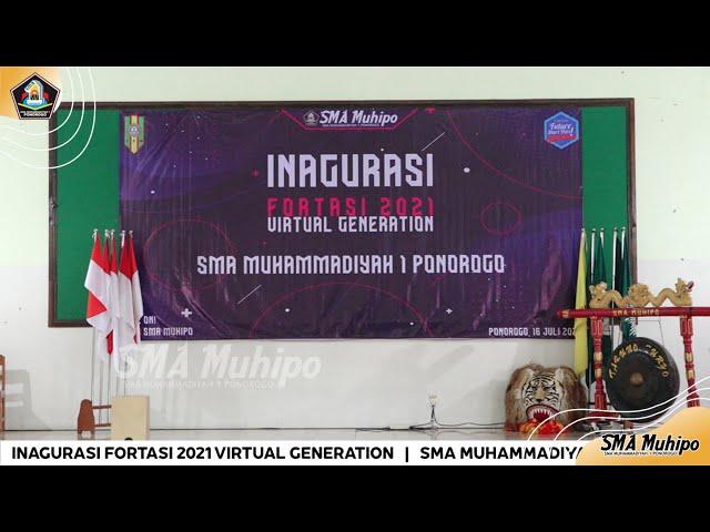 LIVE.!!! INAGURASI FORTASI 2021 VIRTUAL GENERATION