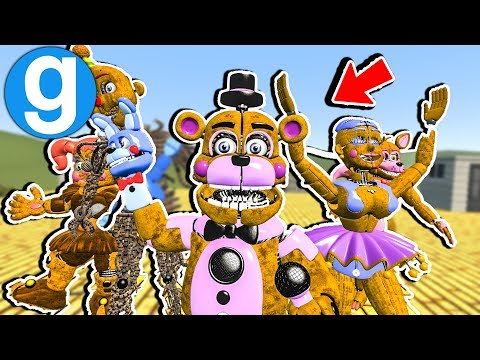 Brand New Nightmare FNAF Sister Location Pill Pack! Five Nights at Freddy's Garry's Mod Gameplay thumbnail