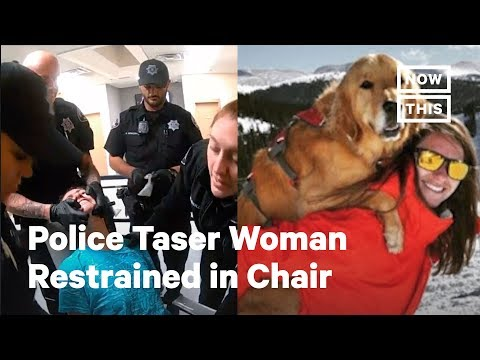 Police Taser Woman Who Was Smoking And Had Her Dog Off Leash | NowThis