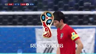 South Korea vs Sweden -FIFA18 World Cup Prediction