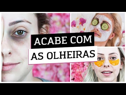 ACABE COM AS OLHEIRAS EM MINUTOS - TRUQUES CASEIROS
