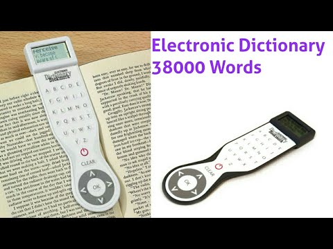 THAT COMPANY CALLED IF ELECTRONIC DICTIONARY BOOKMARK