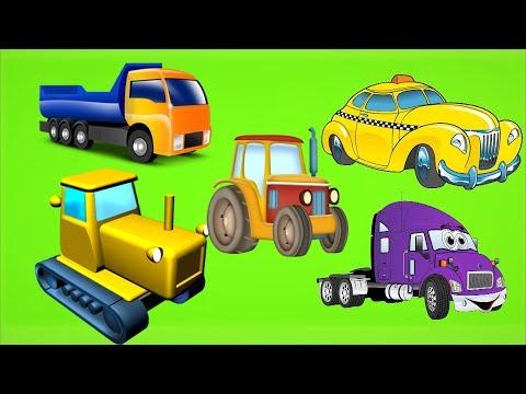 Мультики про #Машинки - Автомобильный Город. #Сериал для мальчиков - Много машинок #Мультфильмы 2017