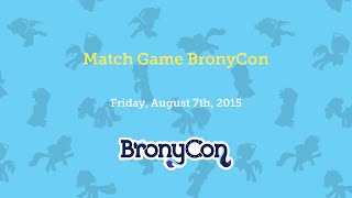 Match Game BronyCon