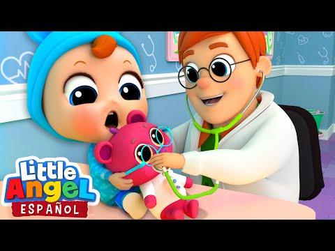 Descargar Video ¡El Bebé visita al Doctor! 👨⚕️| Canciones Infantiles | Little Angel Español