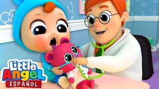 ¡El Bebé visita al Doctor! 👨⚕️| Canciones Infantiles | Little Angel Español