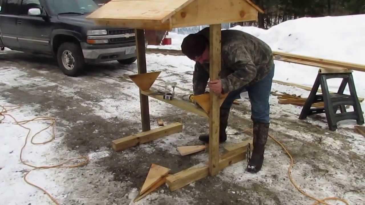 Easiest Ways To Build Homemade Deer Feeder
