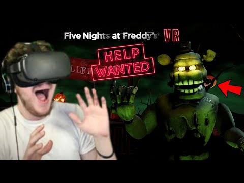 BACK TO WHERE IT ALL BEGAN | FNAF VR #4